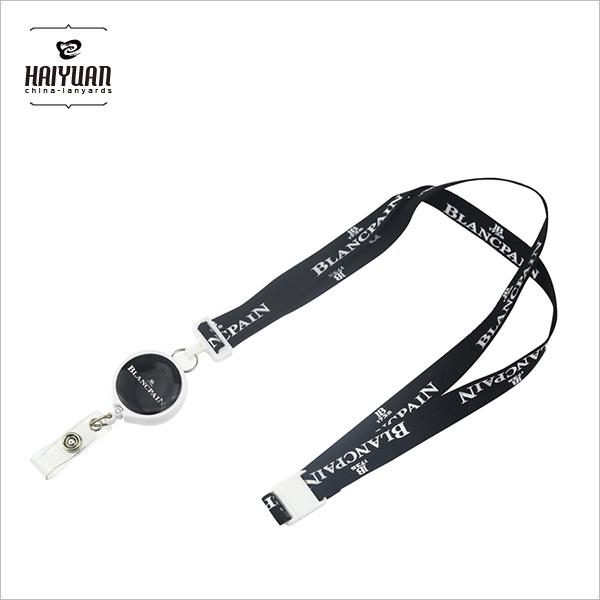 Custom Retractable Plastic Badge Lanyard Pull Reel for Wholesale