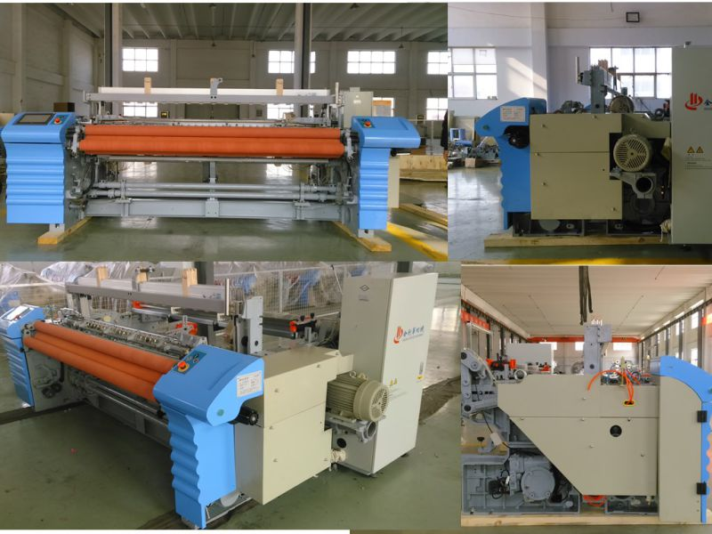 Jumbo Motion Mechanical Tuck-Indevice Air Jet Machine for Textile