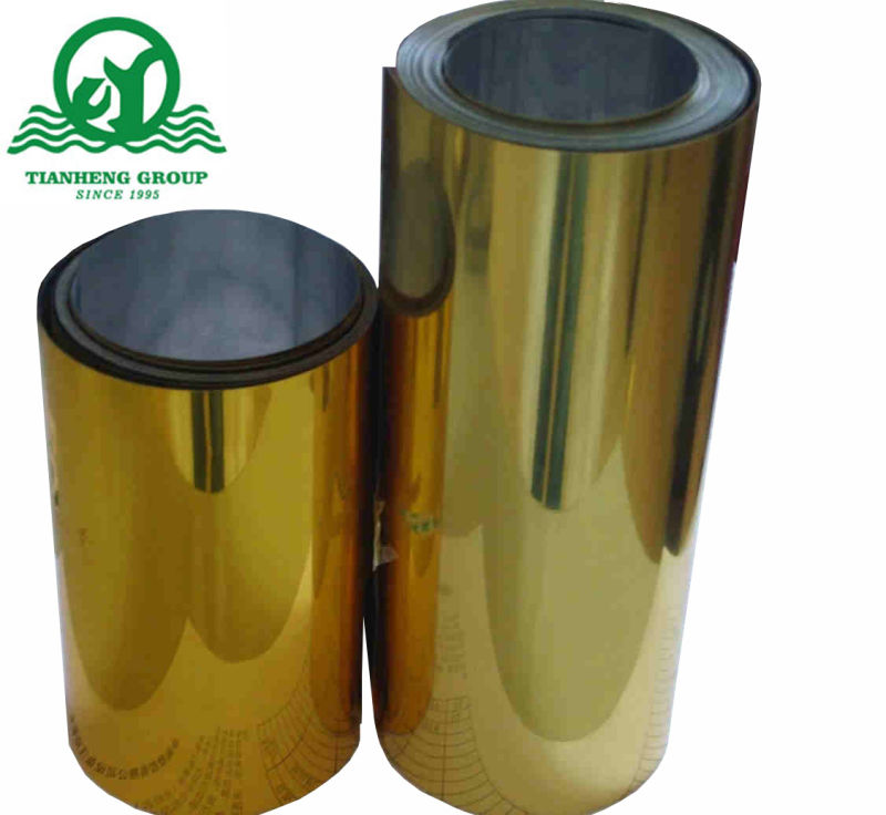 450mic Metallized PVC Rigid Film with Gold and Silver