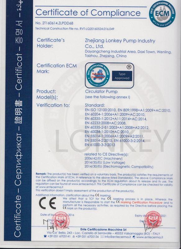 260W Three Speed Household Cast Iron Circulation Pump: Lps32-8s/180