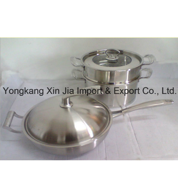 5psc Set with Stand Stainless Steel Kitchenware