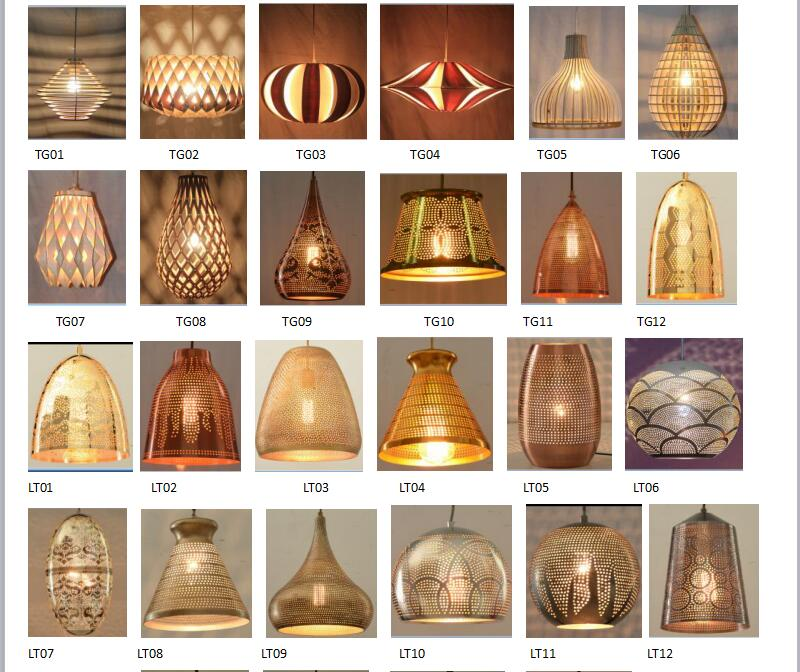 2017 Creativity Howoll Round Pendant Lighting with Bar