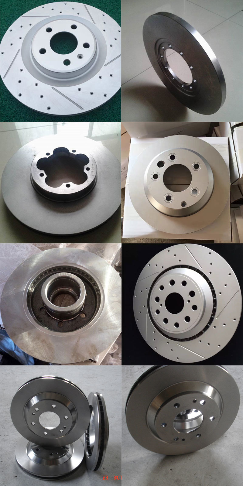 Automobile Parts Brake Disc for Car Accessories
