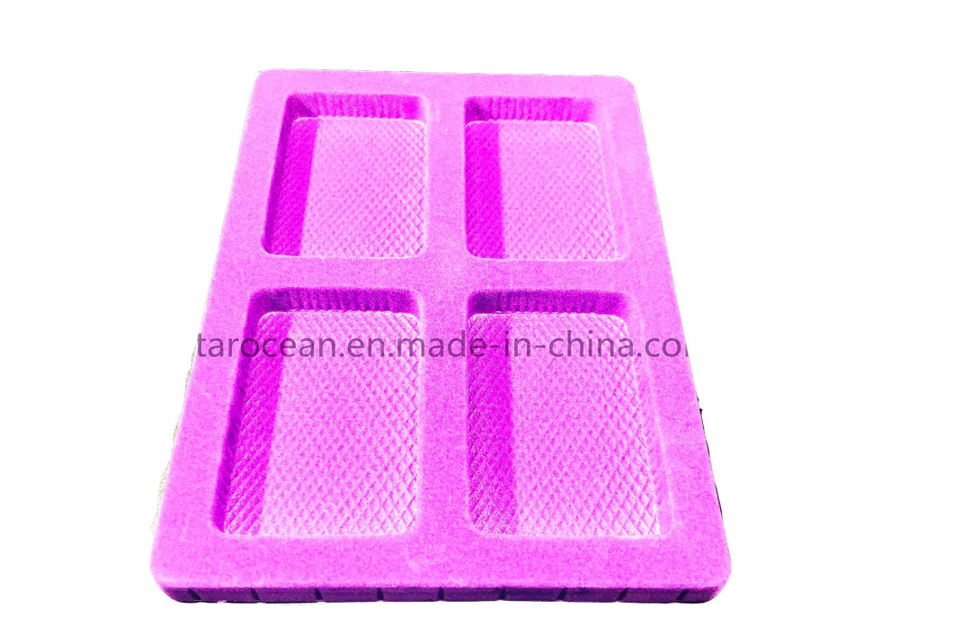 Cosmetic Flocking Blister Packaging Container