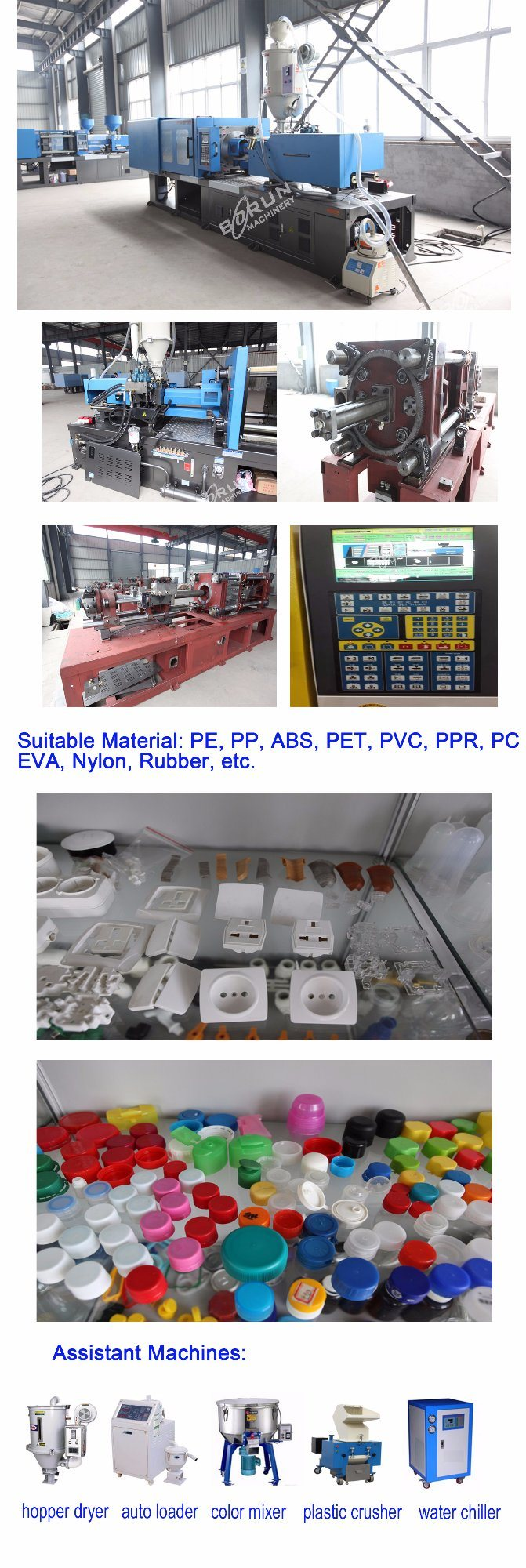Servo Motor Type Injection Machine for Pet Preforms