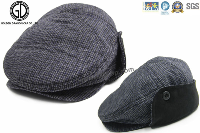 Plaid IVY Newsboy Gatsby Cap Hat