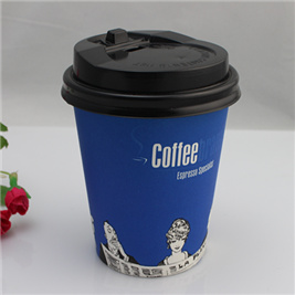 Disposable Coffee Cup with Lid/Coffee Paper Cups