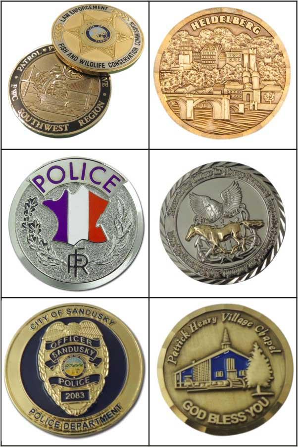 Cheap Custom Military Souvenir Coin for Souvenir Gift (LM1068)