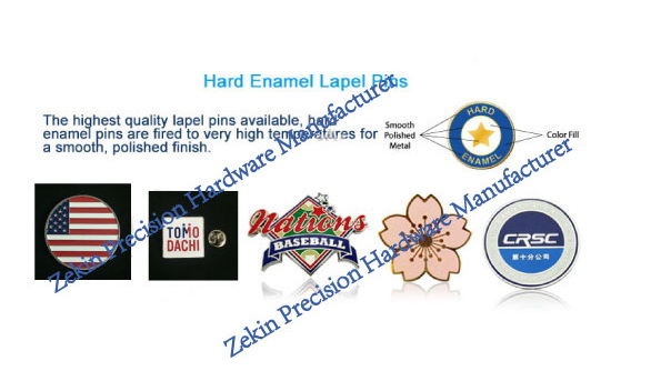 Customized Shaped 3D Badge Lapel Pin with Printing Logo