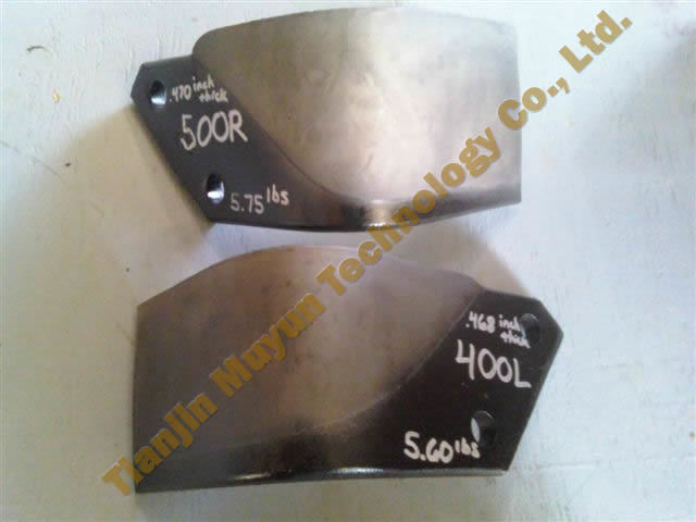 500r 400L Tiller Alloy Wc Rotary Blades