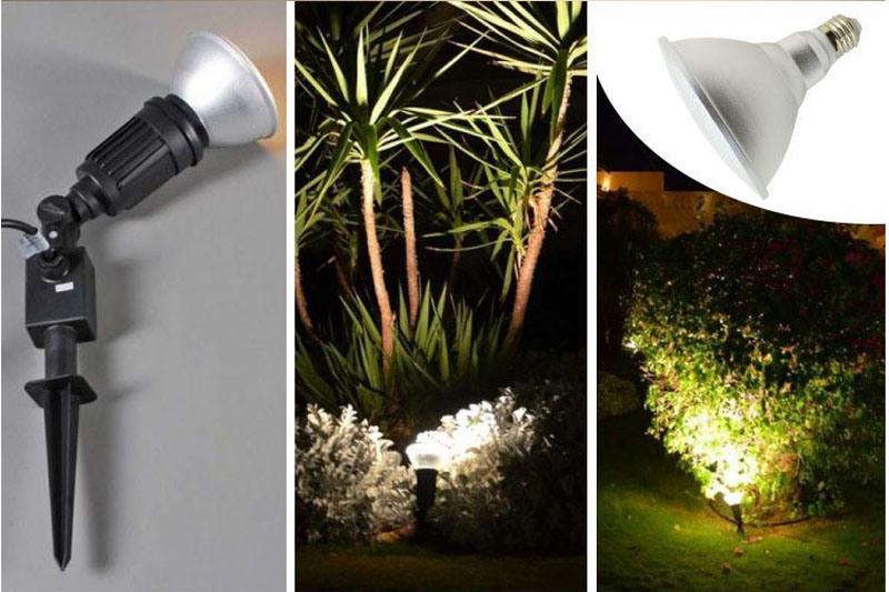High Power 15W PAR38 LED Spotlights IP65 Waterproof for Garden
