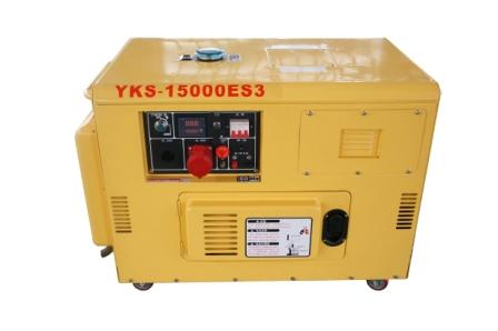 Soundproof Small Diesel Engine Electric Power Generator Diesel Generating