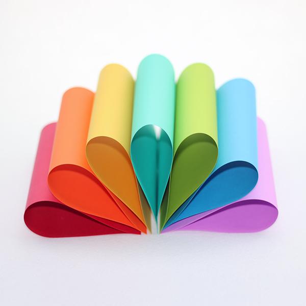 High Grade 100% Wood Pulp 160g Color Paper