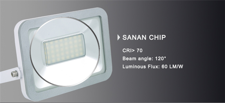 Ce, RoHS, TUV, SAA 2700-7000k 10W High IP65 Isolated Driver Floodlights