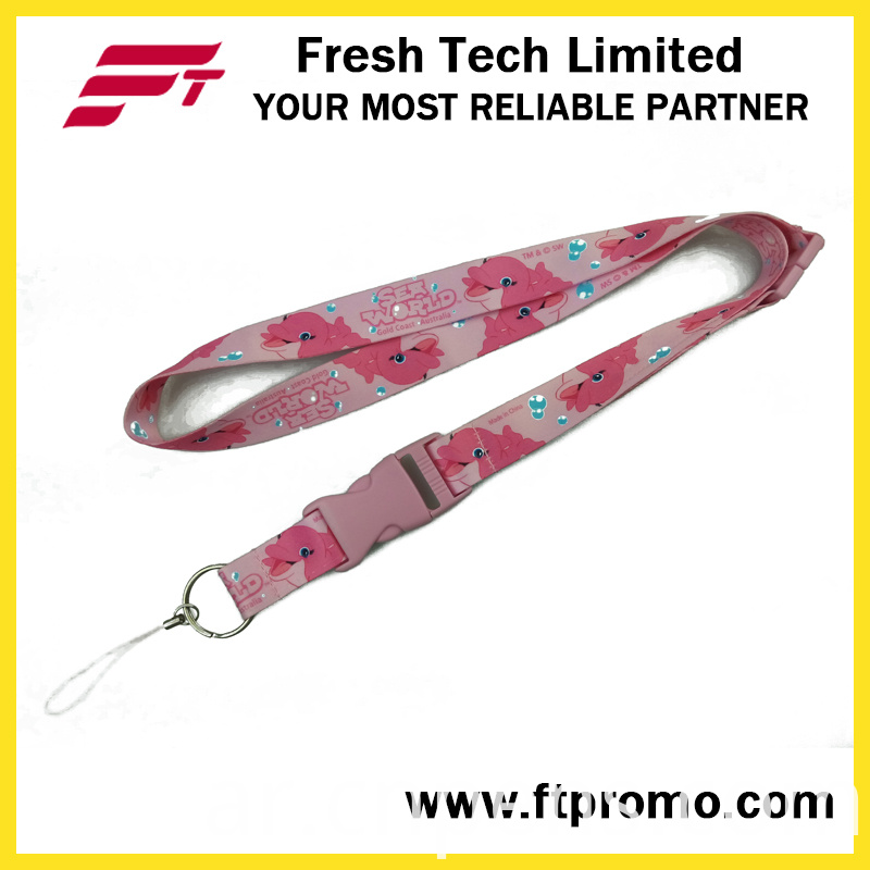 Made in China Cheapest Polyester Lanyard with Your Logo