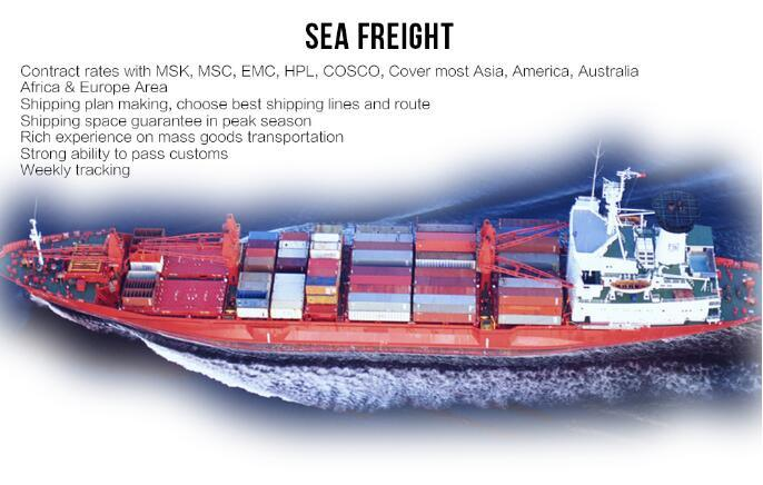 Sea Freight Air Shipping Consolidation to Sucre