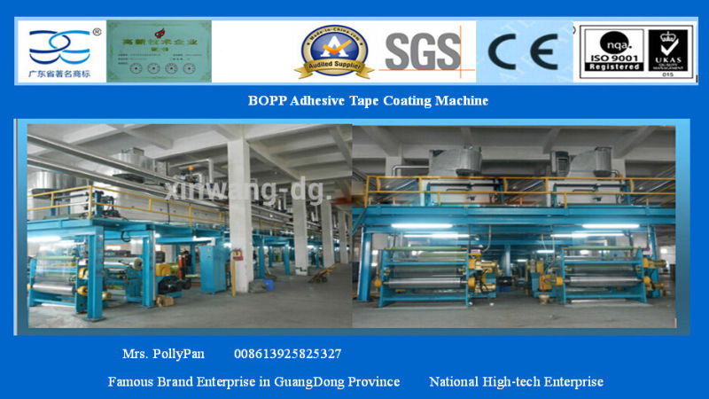 1300mm Hot Sale Coating Machine for BOPP Tape