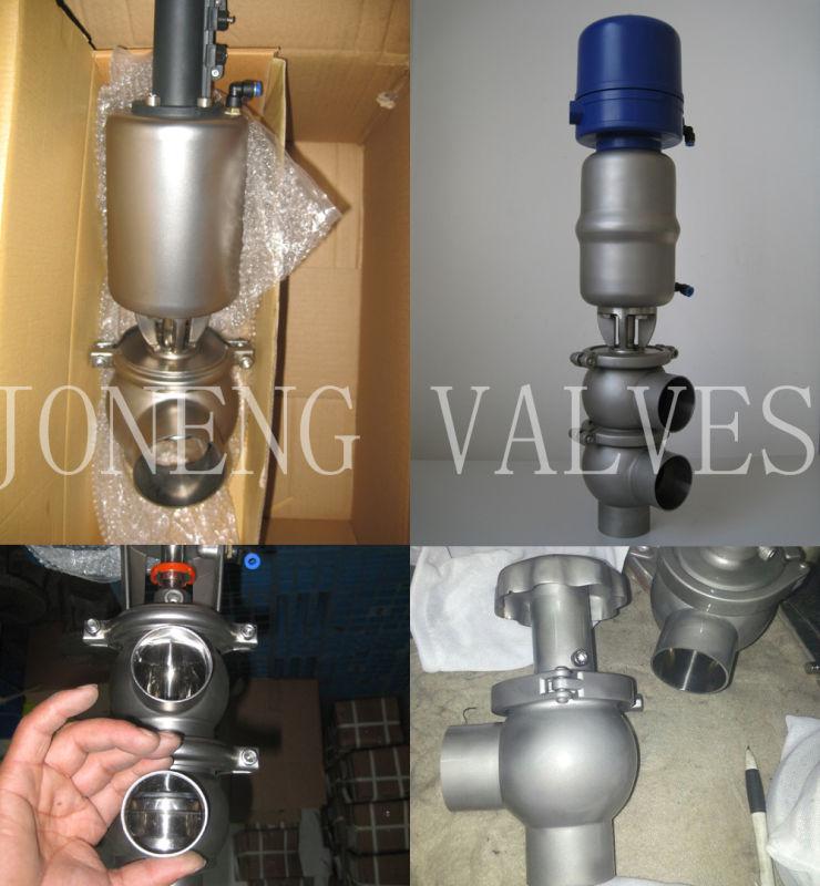 Food Grade Fluid Control Stainless Steel Valve (JN1005)