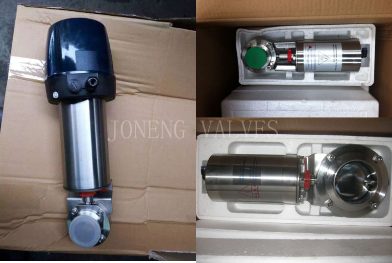 Stainless Steel Sanitary Clamped Maunal Butterfly Valve (JN-BV1001)