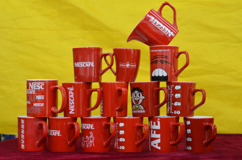 Neslte Red Promotion Mug