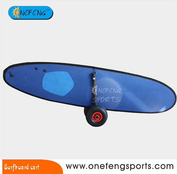 Surfboard cart