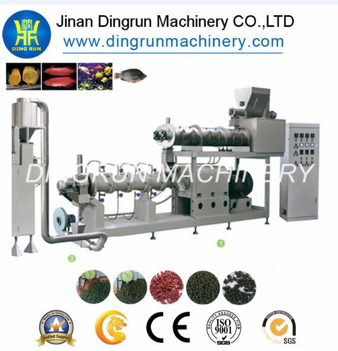 big floating fish feed making machine