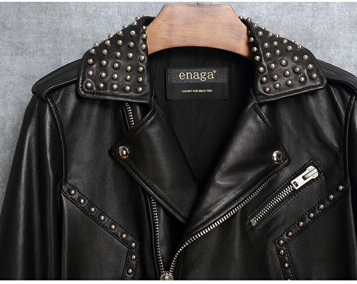 New Design Fashion Genuine Sheep Leather Clothing for Women