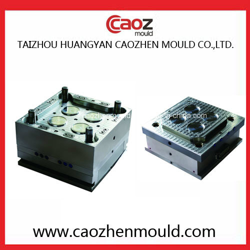 4 Cavity/Plastic Thin Wall Container Lid Mould