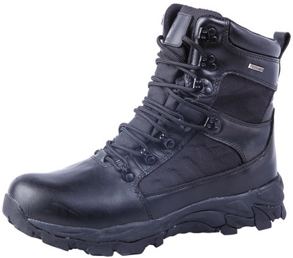 Black Army Boots Combat Boot (AB-01)
