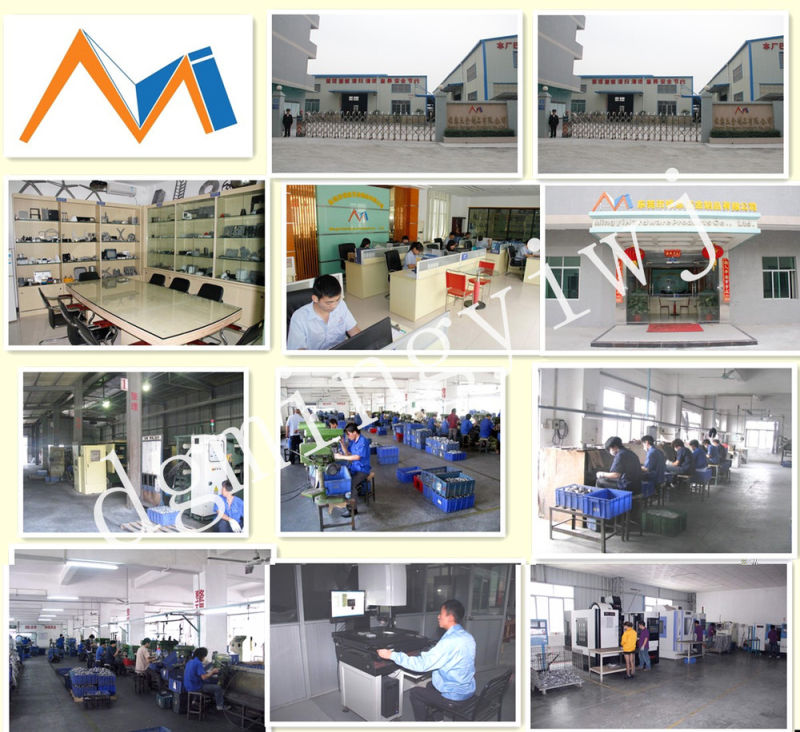 Dongguan Die Casting Aluminum Alloy Products with Anodic Oxidating Which Approved ISO9001-2008