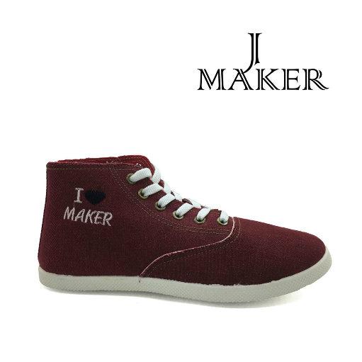 2016 Fashion Casual Canvas Denim Shoes Jm2043-L