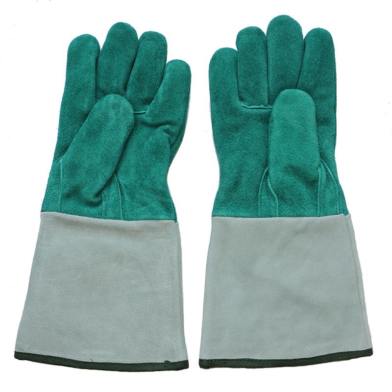Ab Grade Cowhide Split Leather Protective Welder's Gloves
