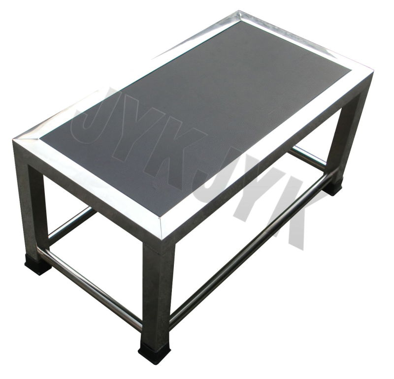 S. S. Footstool for Hospital with Double Steps