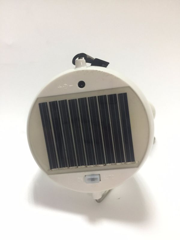 Portable Outdoor Emergency Waterproof Solar LED Light for Camp