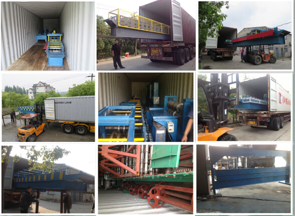 Hydraulic Cutting and Punching Z Steel Purlin Roll Forming Machinery