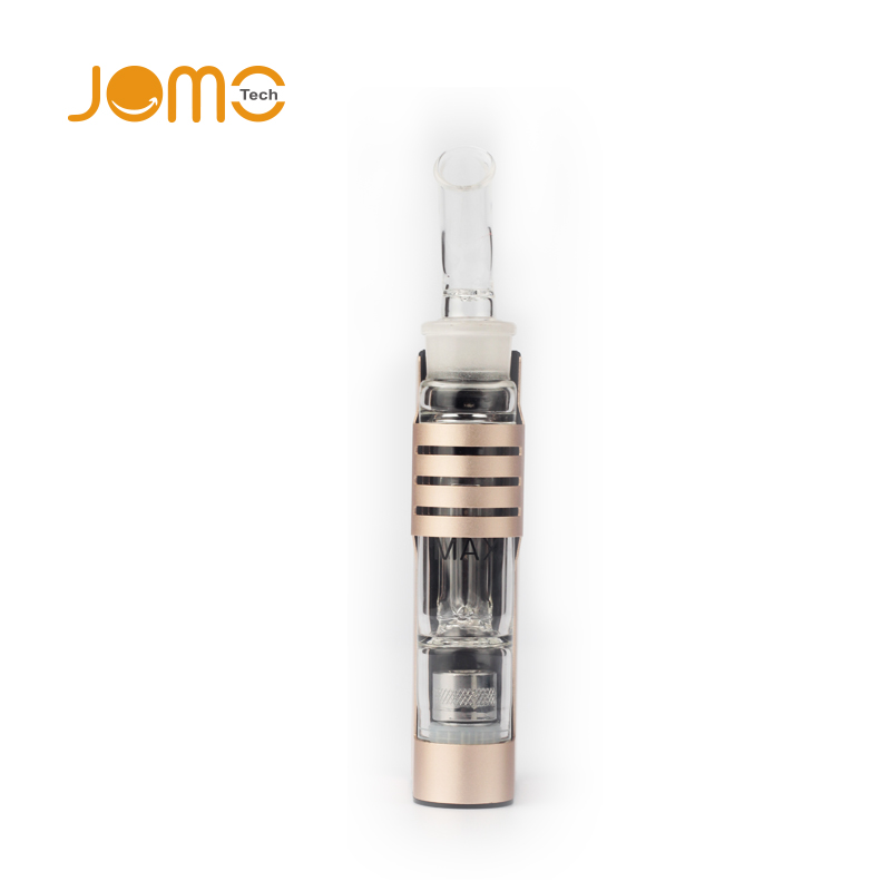 Jomo Dark Knight Spirit Wax Vaporizer with Water Clean System