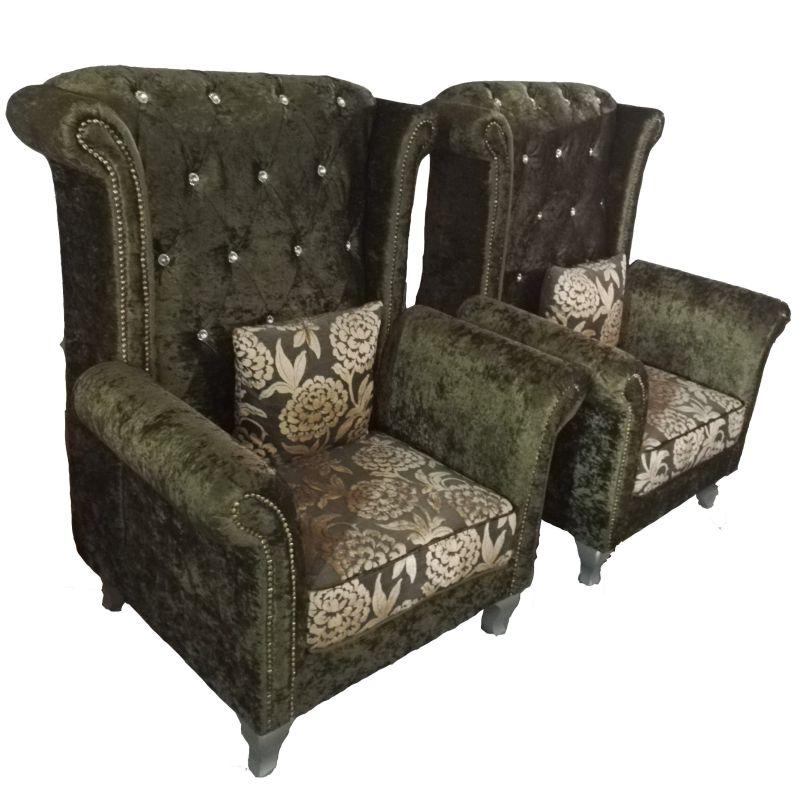 High Quality Tiger Chair Fabric Sofa Chair (2098)