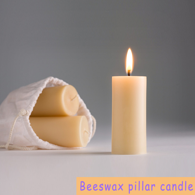 Ordinary Wax Pillar Candle
