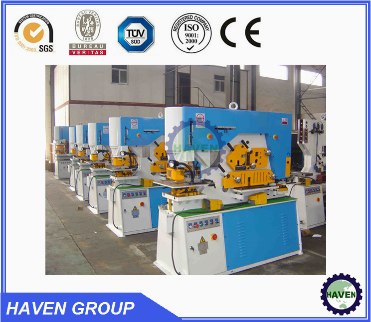 Angle cutting machine punching machine with CE standard