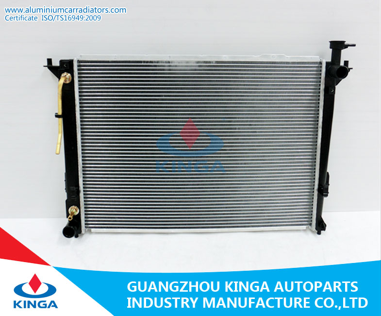 Aluminum Auto Radiator for Santa Fe 10-12 / KIA Sorento 11-12