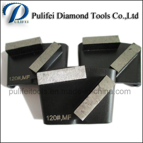 China Grinding Pad HTC Concrete Stone Floor Surface Polishing