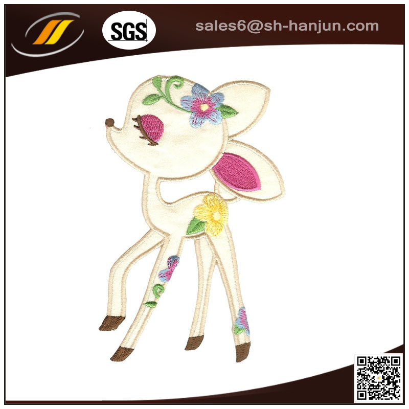 New Design Full Embroidery Iron Patch Woven Patch