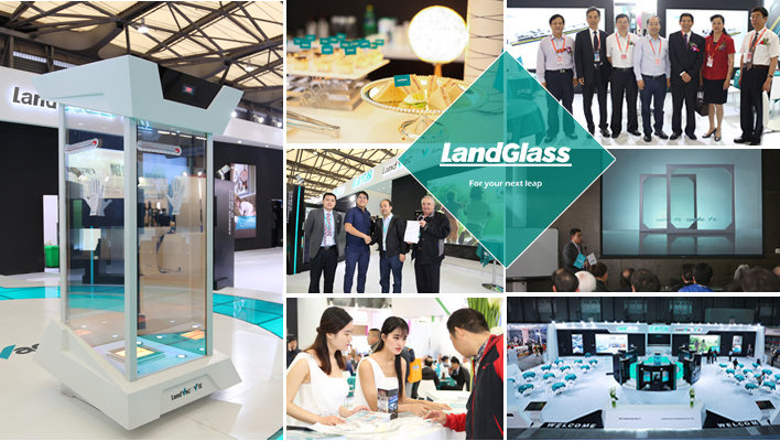 Landglass Hotel Light Weight Vacuum Decoration Glass