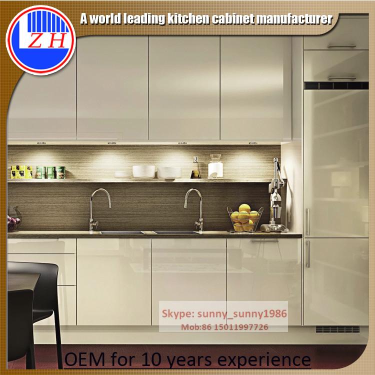 2016 New Acrylic Wood Kitchen Cabinet