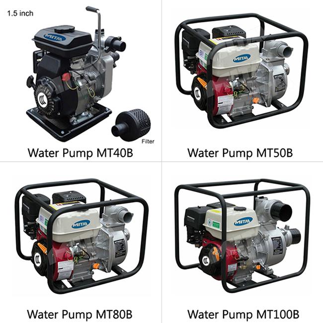 Electric Starting System 338 Cc Four-Stroke Model Petrol Engine