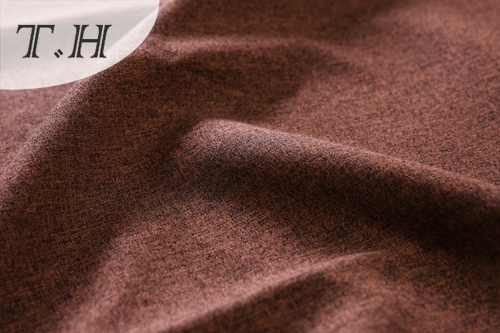 Brown Plain Linen Fabric Made in Dama Tongxiang