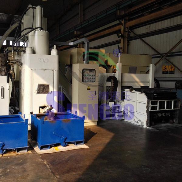 Scrap Copper Brass Briquetting Press with Ce
