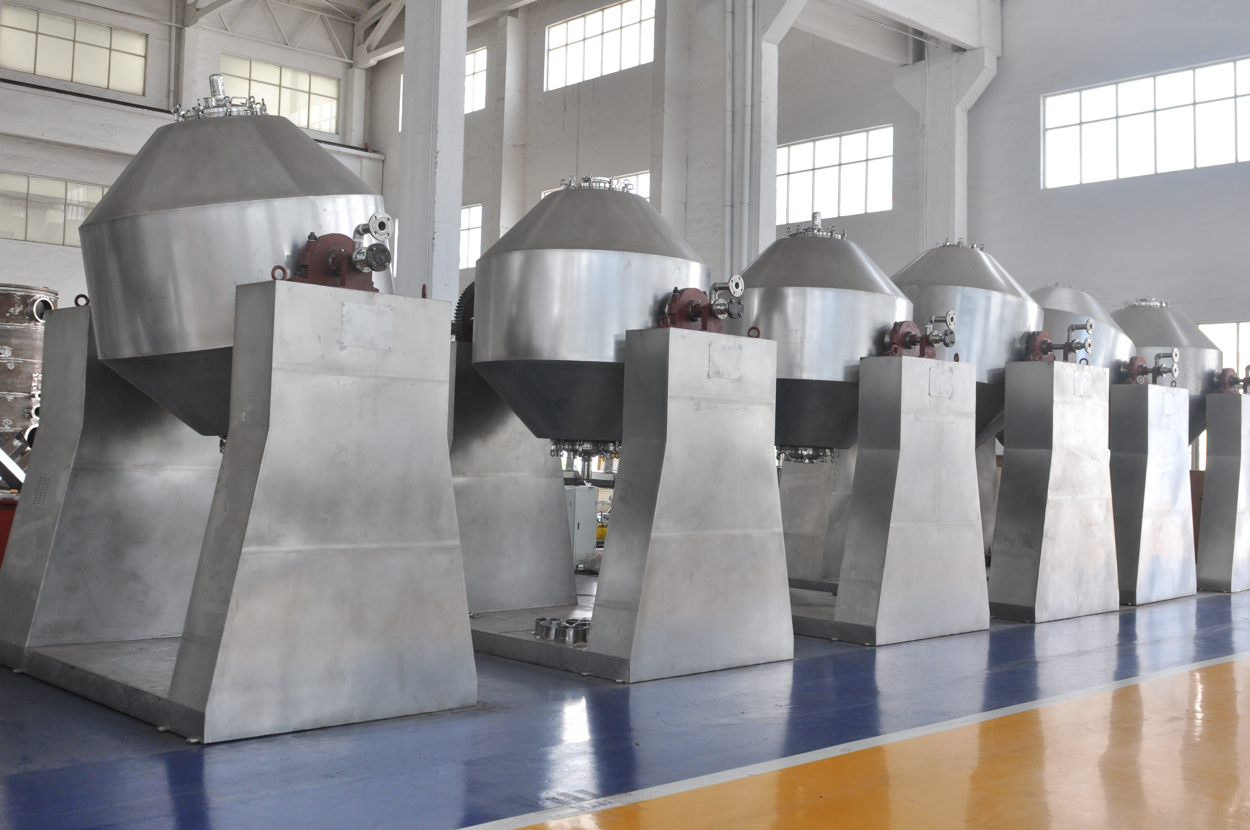 Double-Cone Rotary Dryer