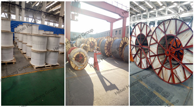 China Supplier XLPE/Epr Insulated Lshf Tinned Copper Single Conductor Fire Resistant Shielded Shipboard Control Cable