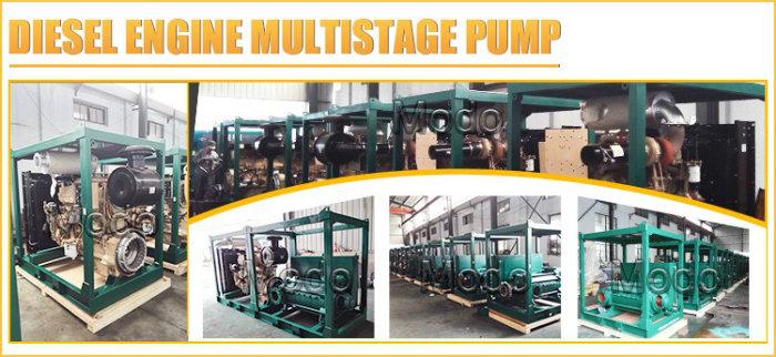 Farm Irrigation Diesel Movable High Pressure Water Pump